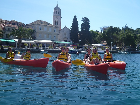 Cavtat sea kayaking